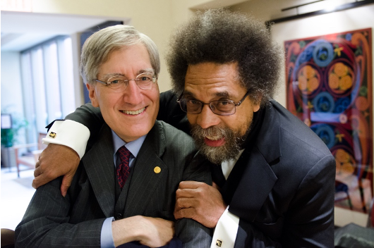 Robert George and Cornel West