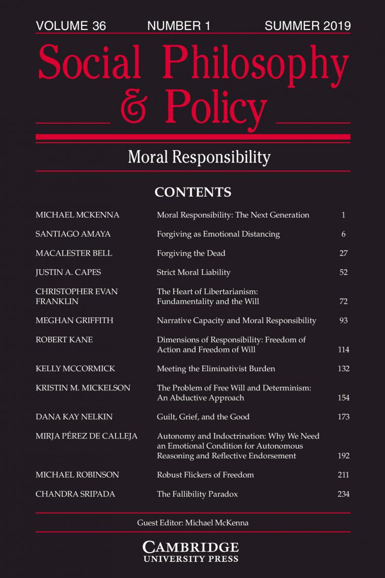 SPP Moral Responsibility cover